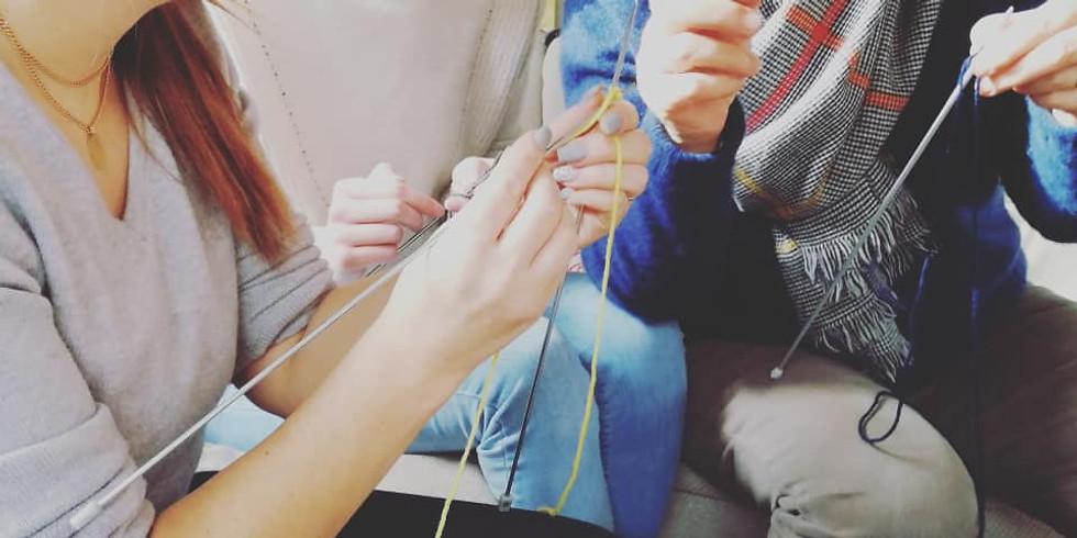 Atelier Tricot : Apprenez les bases du tricot !