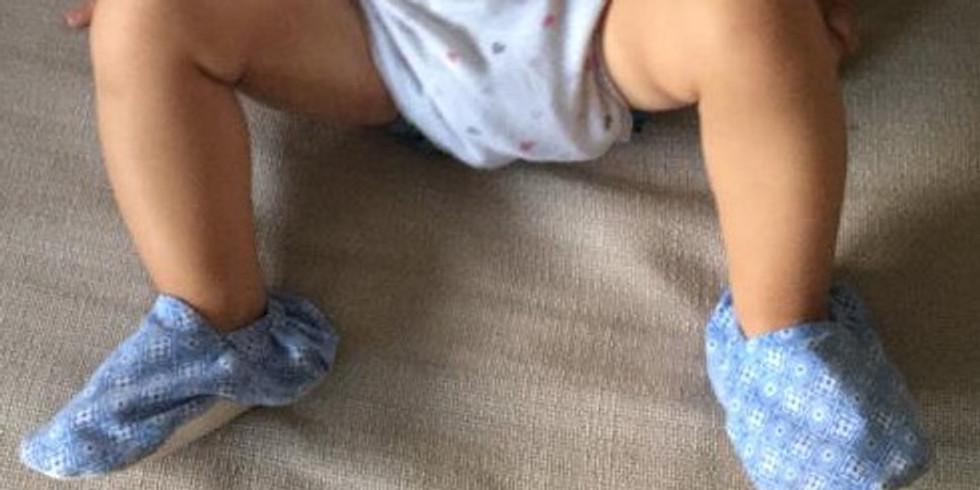 Atelier Couture : Création de chaussons de bébé
