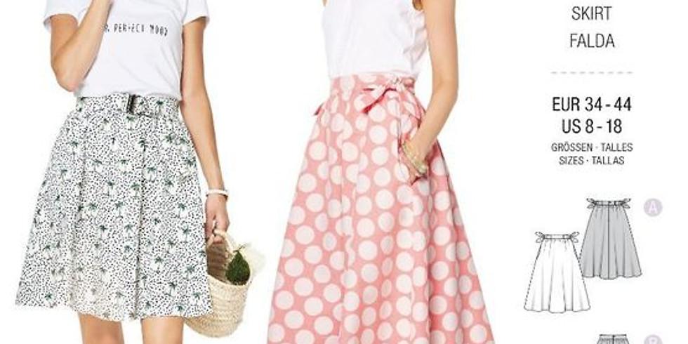 Atelier Couture : Création d'une jupe à partir d'un patron