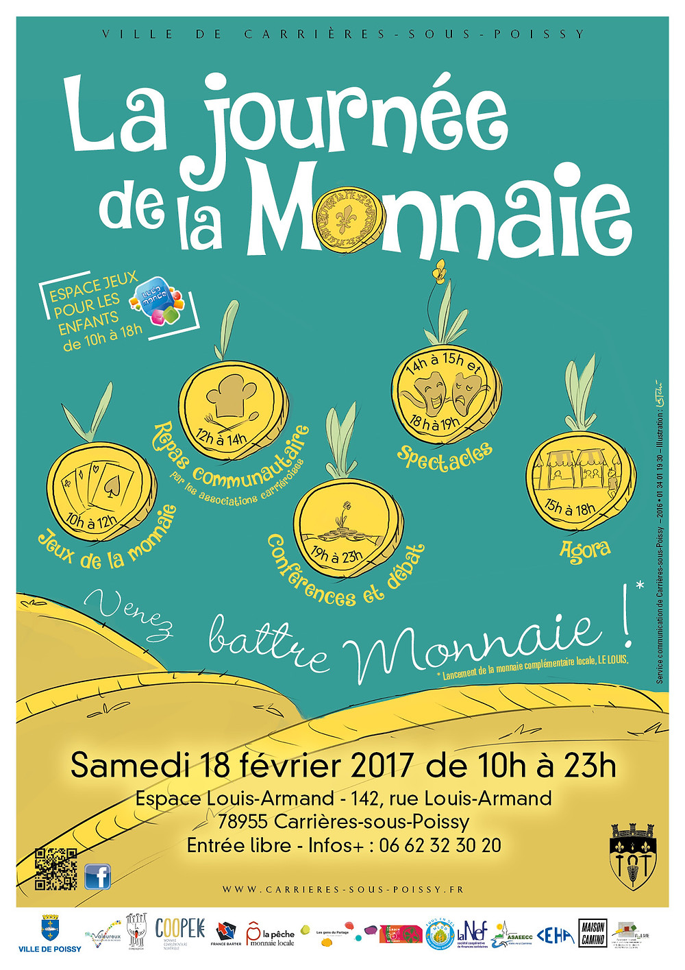 Journée de la monnaie à Carrières-sous-Poissy