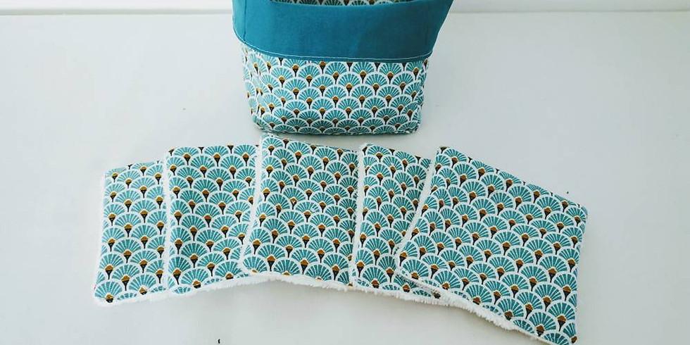 Atelier Couture : Création de pochon pour lingettes démaquillantes