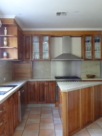 Country kitchen makeover