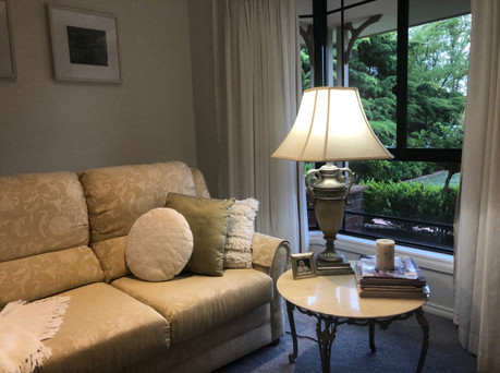 Classical lounge and lamp