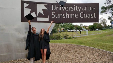 Graduation ceremony, USC SIppy Downs.jpg