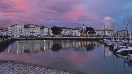 La Rochelle Hafen Sonnenuntergang.jpg