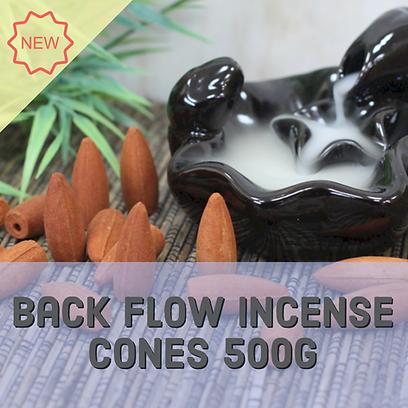 Back flow incense cones 500g approx 225 pieces