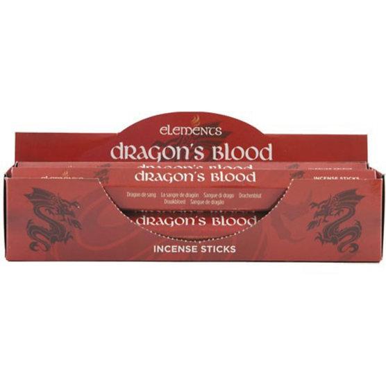 Dragon's Blood  fragranced incense sticks by Element