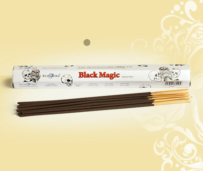 Black Magic Hex Incense