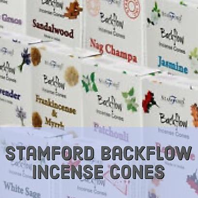 Stamford backflow incense cones