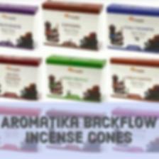 Aromatika backflow incense cones