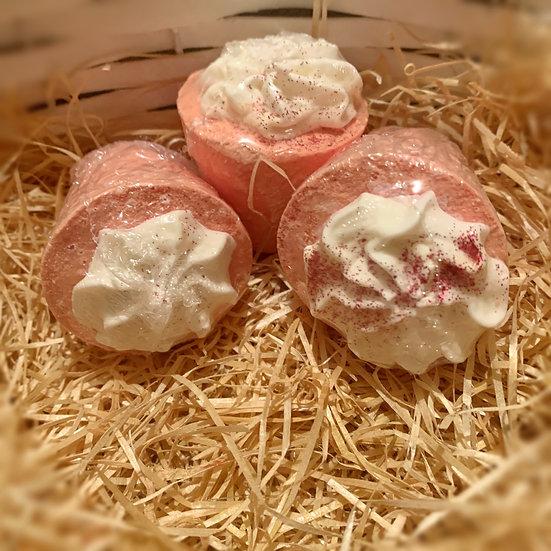 Strawberry bath creme 60g
