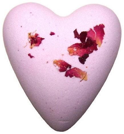 Mega fizz Bath Heart - Rose