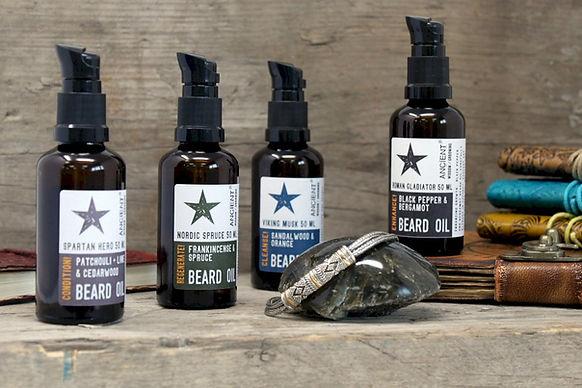 Men's beard oils make an ideal gift for the bearded man