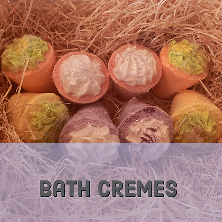 Bath Cremes Bath Bombs