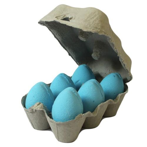 6 Blue eggs