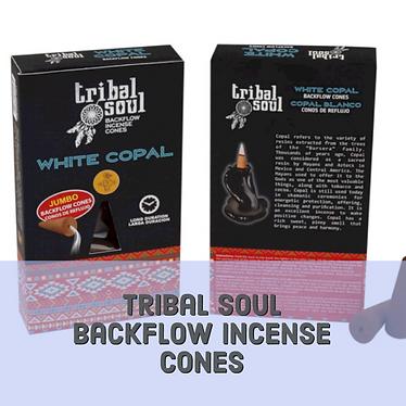 Tribal soul backflow incense cones