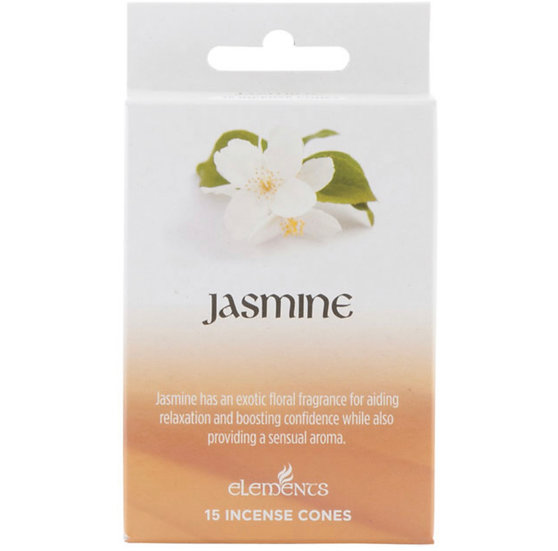 12 Packs of Elements Jasmine Incense Cones