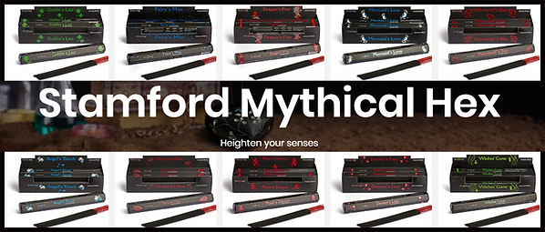 Stamford mythical hex poster