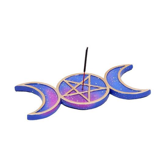 Triple Moon Incense Burner 21.5cm