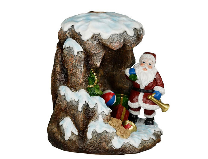 Christmas Santa's Grotto Backflow Incense Burner