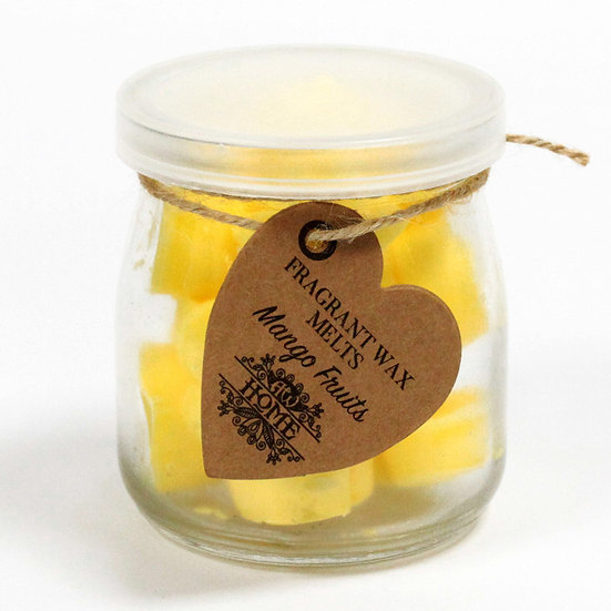 Mango Fruits Scented Soy Wax Melts In a jar