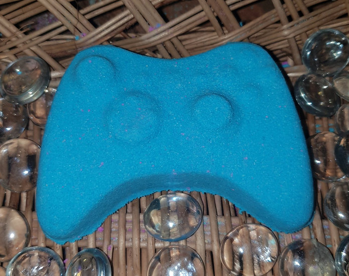 Blue X Games Controller Bath Bomb
