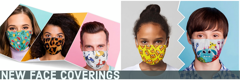 Great value fast masks in child and adult sizes to help you stay Covid secure