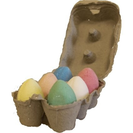 Box of 6 Bath Eggs - Mix (6x 50gm)