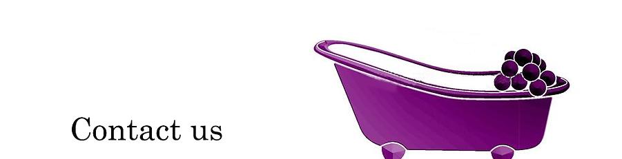 A purple bath