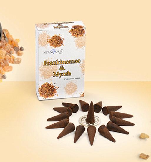 Frankincense & Myrrh - Stamford Incense Cones