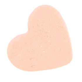 5x Love Heart Bath Bomb 70g - Passion Fruit