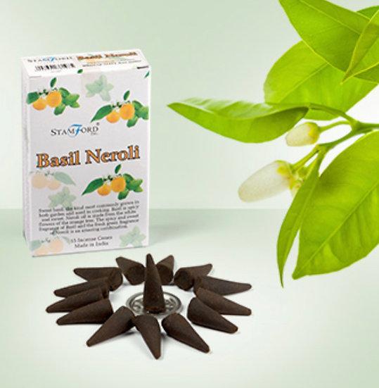 Basil Neroli - Stamford Incense Cones