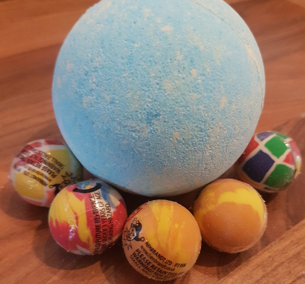 bouncy ball inside