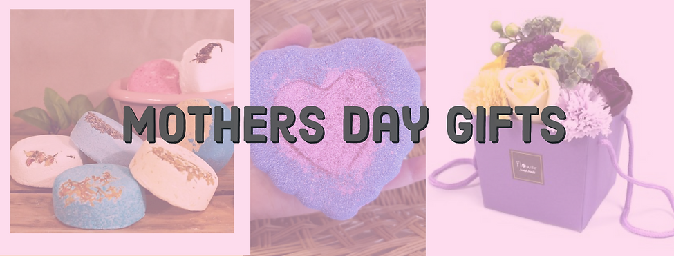Mother's Day gifts header