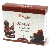 Sandal Backflow Incense Cones