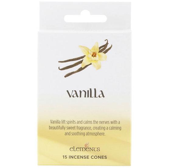Vanilla Incense Cones -Elements
