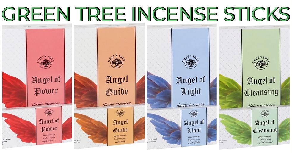Green Tree Incense Sticks