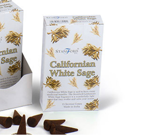 Californian White Sage - Stamford Incense Cones