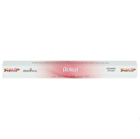 Floral fragranced incense sticks by Element