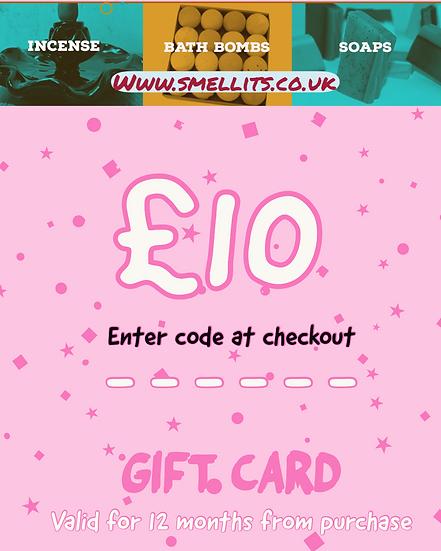 £10 Gift Card