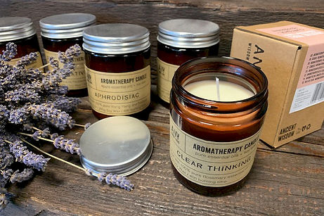 Aromatherapy soy wax candles 200g