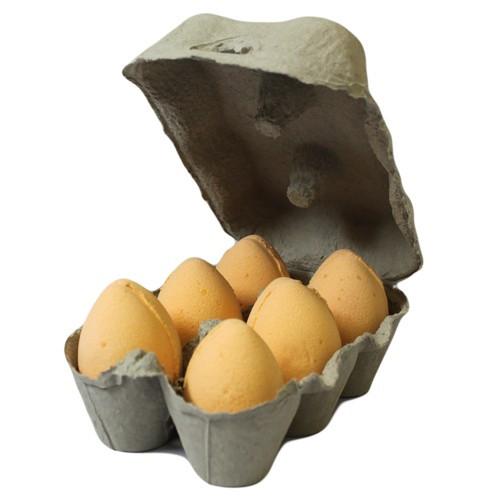 6 Orange eggs