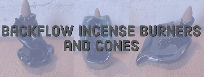 backflow burners cones header