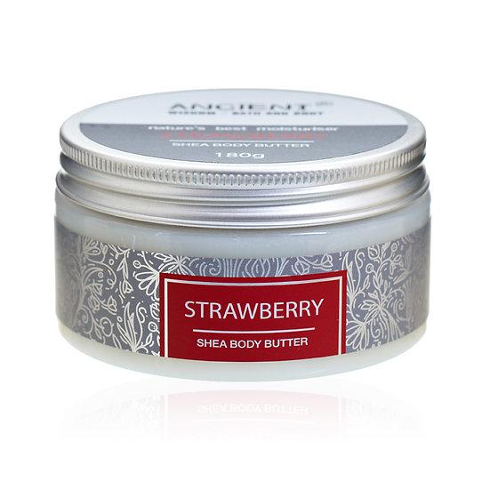 Strawberry - Shea Body Butter 180g