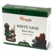 White Sage Backflow Incense Cones