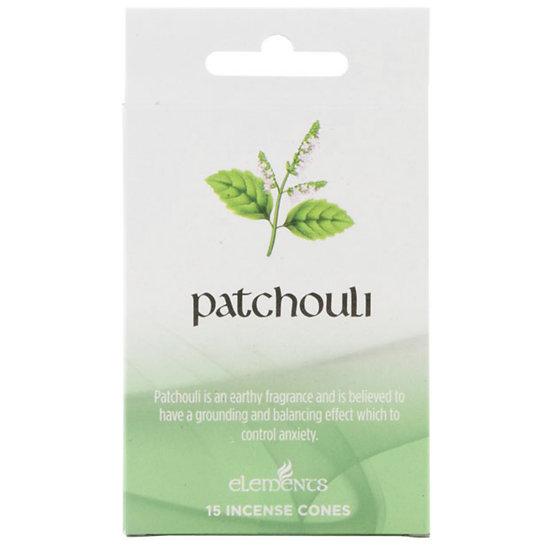 Patchouli Incense Cones -Elements