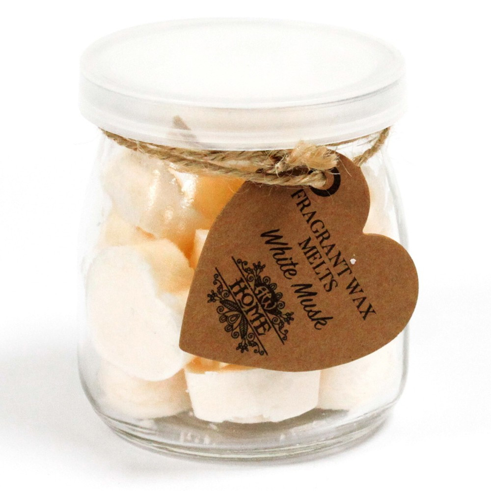 White Musk Soy Wax Jar