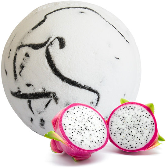 Tropical Paradise Coco Bath Bomb - Dragon Fruit
