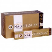 Golden Nag - CHANDAN 15g pack
