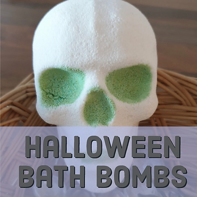 halloween bath bombs